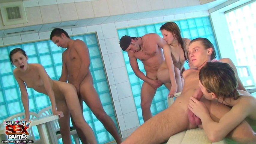 Порно вечеринки групповой секс