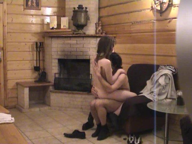 сауне в русской камерой с скрытой секс