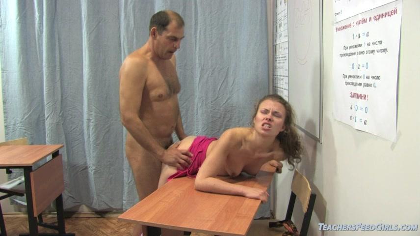 Видео русский секс ученица сдает биологию