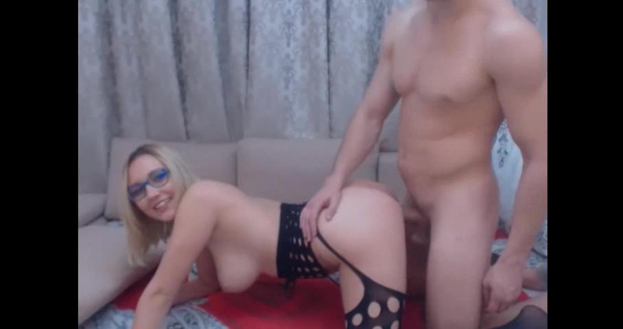 Порно русское онлайн в очках