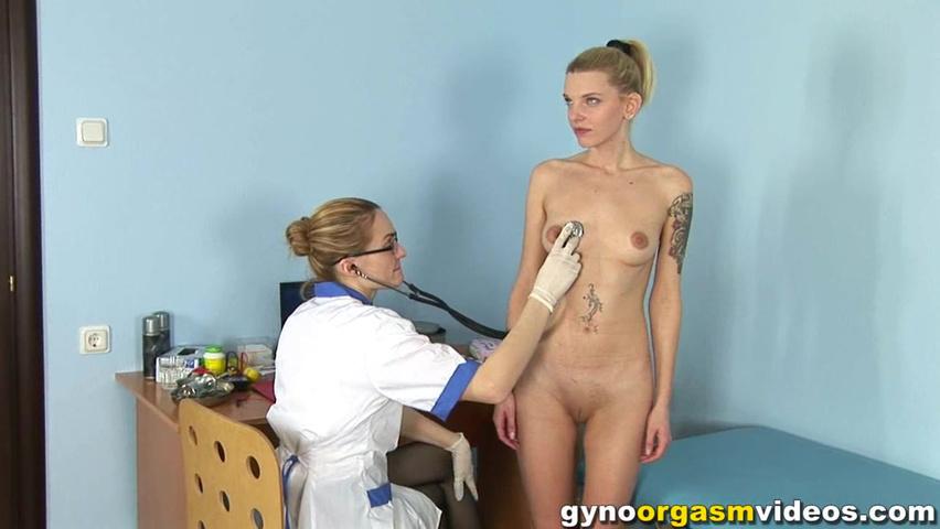 Русское порно дрочка у врача