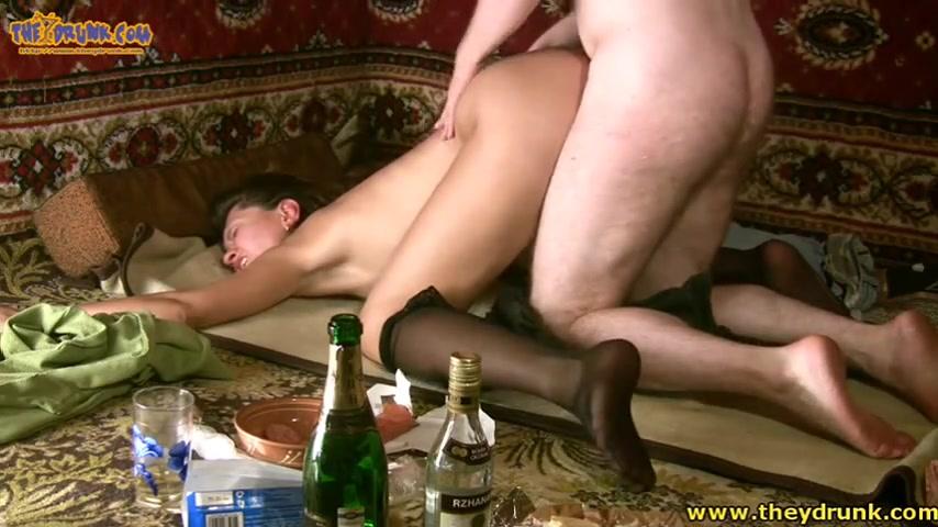 Бабами пьяными порно русскими с негра