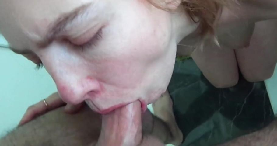 Порно видео онлайн жена делает глубокий минет