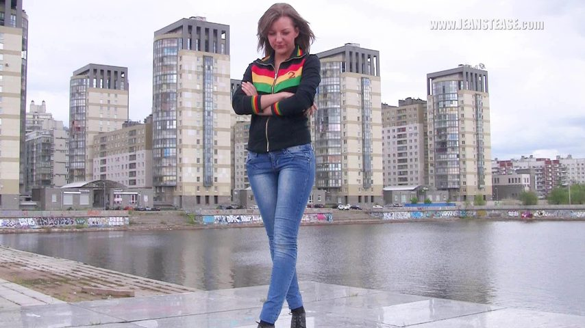 Русское порево в джинсах 1