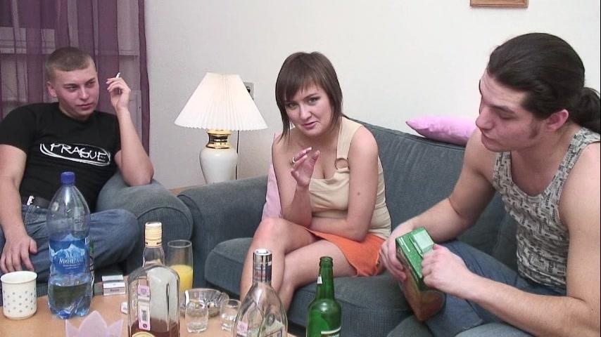 Русский секс развод на улице клубничка