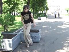 Русское эротическое видео русские студентки писают за углом — 9