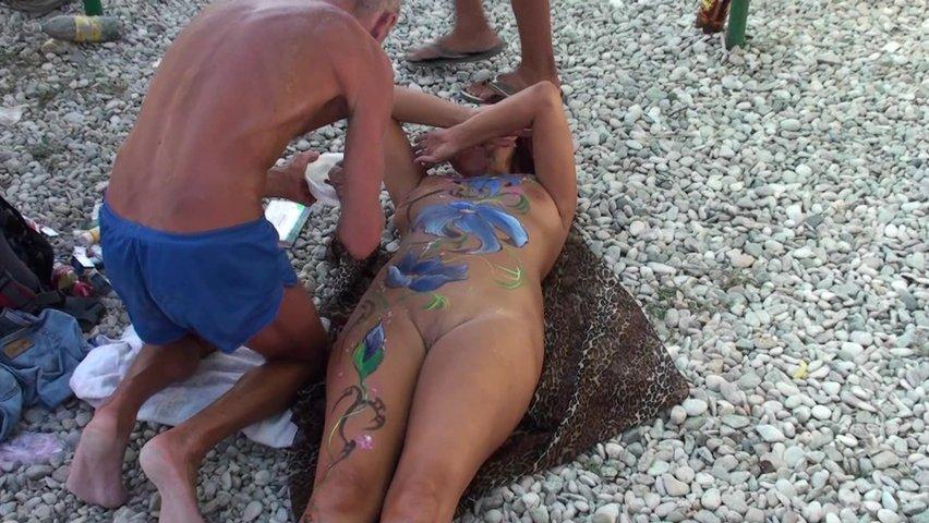 Видео секс нудистов в крыму